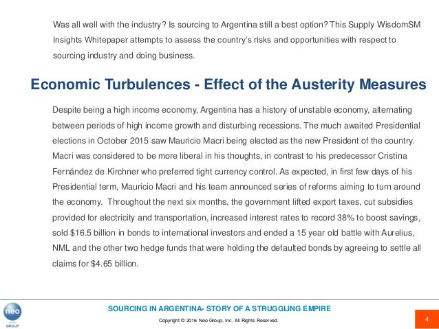 Sourcing in argentina story of a struggling empireebook 3 introduction 4 fandeluxe Gallery