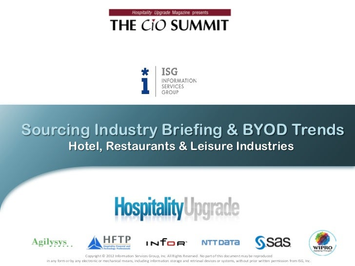 Sourcing Industry Briefing Byod Trends
