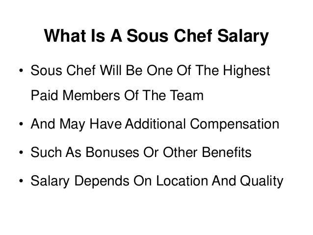 What is a sous chef a job description and definition - Commis de cuisine definition ...