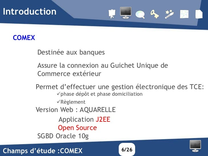Systeme de supervision open source j2ee en temps reel d for Banque algerienne du commerce exterieur