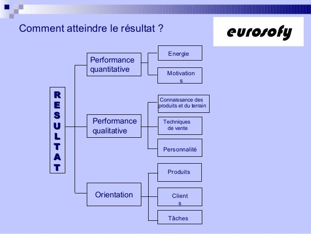 Comment atteindre le résultat ?PerformancequantitativePerformancequalitativeOrientationProduitsClientsTâchesEnergieMotivat...
