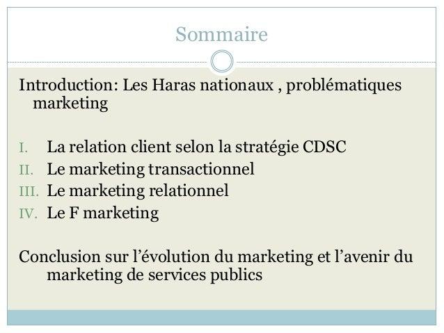 du marketing opérationnel au marketing relationnel Slide 2