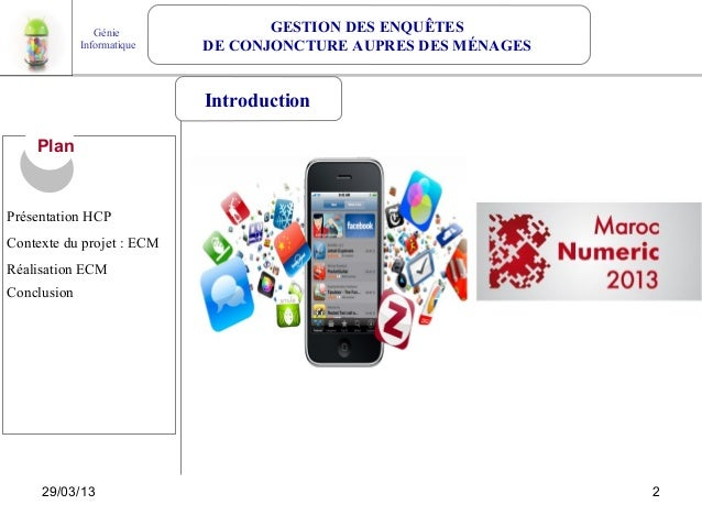 Projet android 4.1 Gestion des ménages Slide 2