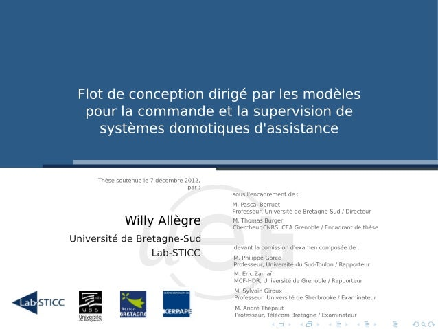 Introduction  Langage de mod´lisation e  Flot de conception  Supervision non-intrusive  Conclusion et Perspectives  Contex...