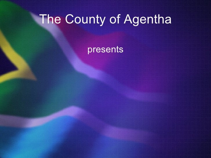 South Africa PowerPoint Background