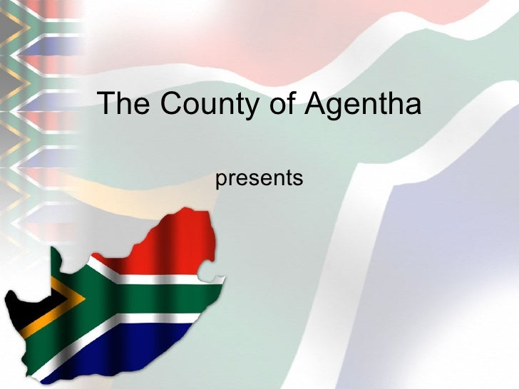 south africa map powerpoint presentation template