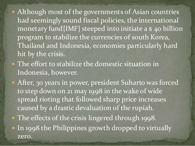 east asian crisis essay Posts about south east asian currency crisis written by thepaperexperts.
