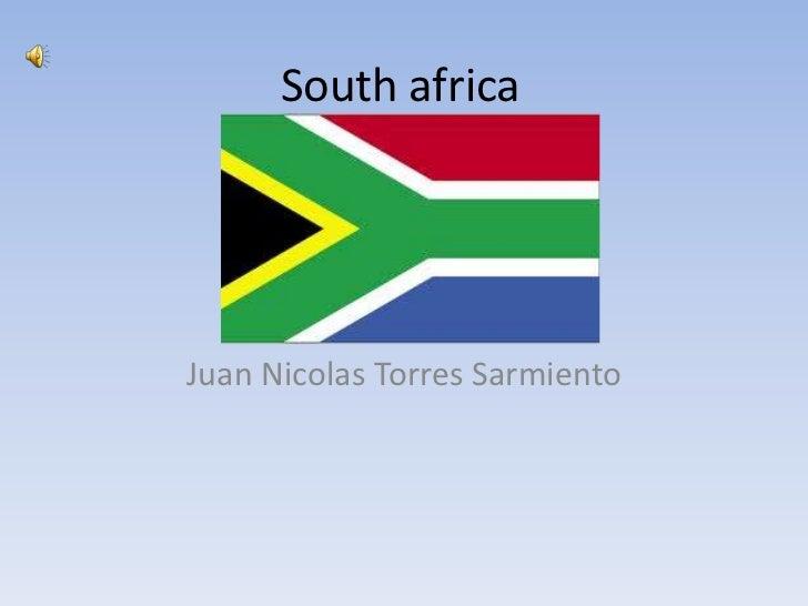 South africaJuan Nicolas Torres Sarmiento