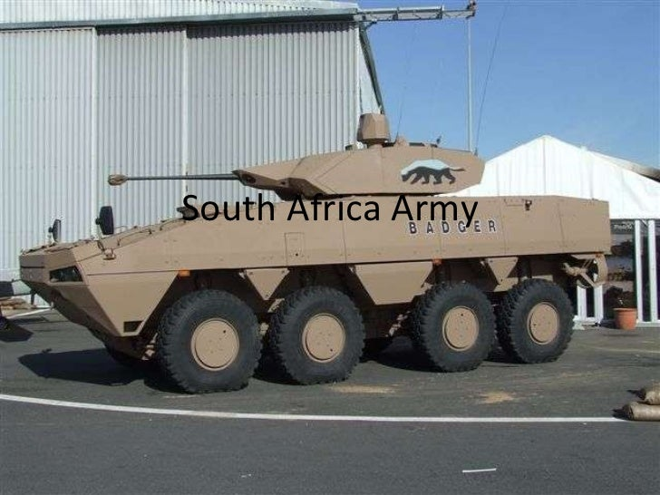 South Africa Army