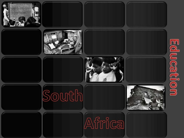 •South Africa was the center of                                the Apartheid                                •There is a hi...
