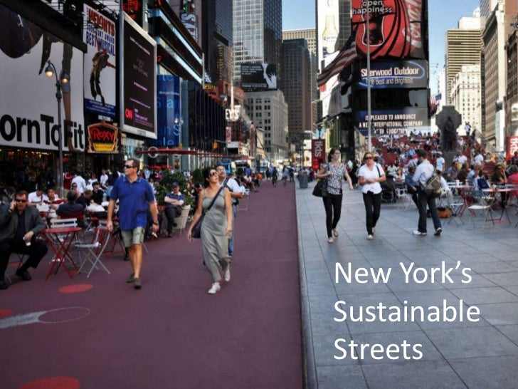 New York'sSustainable Streets<br />