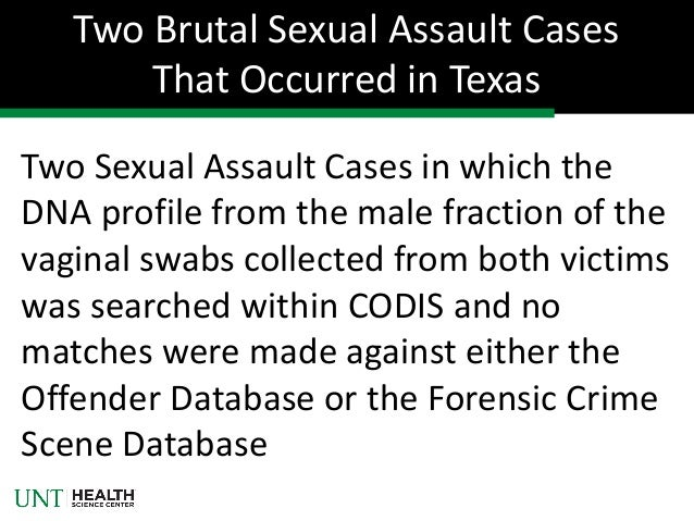 ... 17. Two Sexual Assault ...