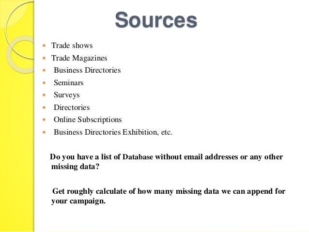 Imágenes de Business Email Addresses List South Africa