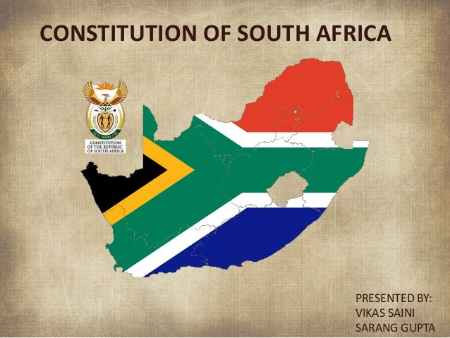 CONSTITUTION OF SOUTH AFRICA EPUB