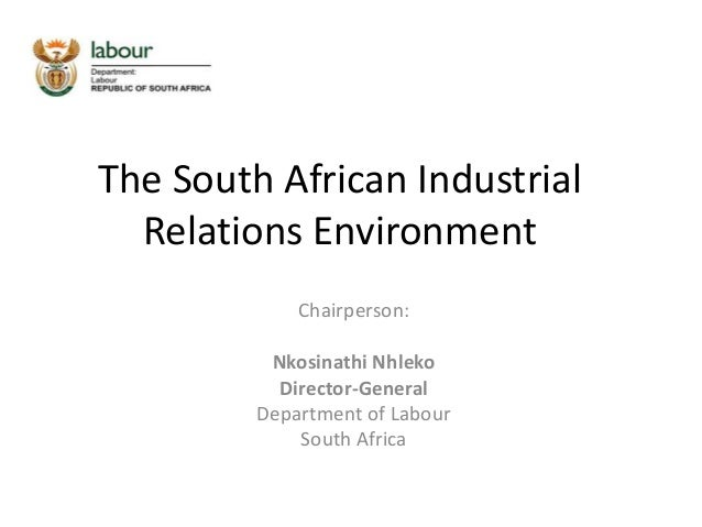 marxist perspective on industrial relations Institutionalist theory is the basic industrial relations institutions in society, the three main industrial relations are, firms, trade union and state in every firm it has its own rules of employment, rules or absenteeism and work dismissal policies.
