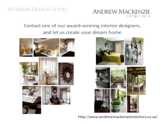 South African Interior Decorators Andrew Mackenzie