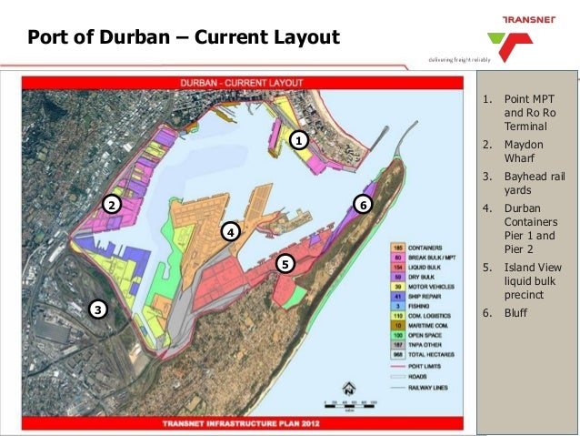South africa's ports system & position, enables it to access to south…