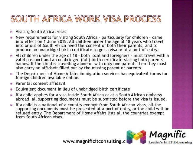 Requirements for a study permit in south africa
