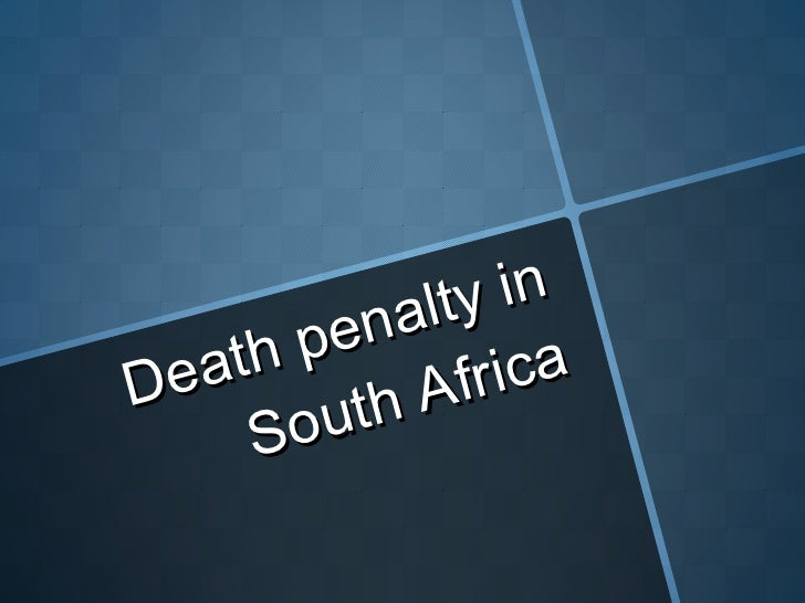 death charge paper articles or blog posts for southern africa