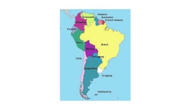 South America 2020 Slide 2
