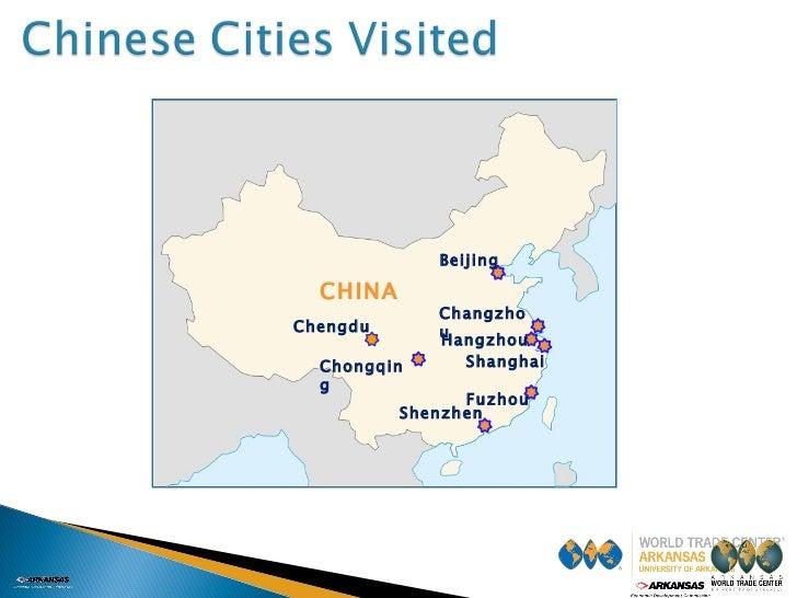 Beijing Shanghai Changzhou Shenzhen CHINA Hangzhou Fuzhou Chongqing Chengdu