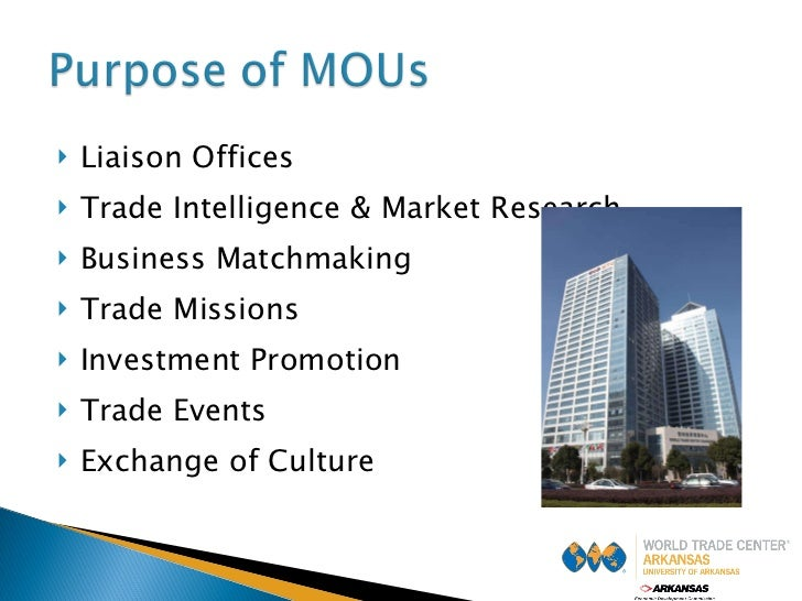 <ul><li>Liaison Offices </li></ul><ul><li>Trade Intelligence & Market Research </li></ul><ul><li>Business Matchmaking </li...
