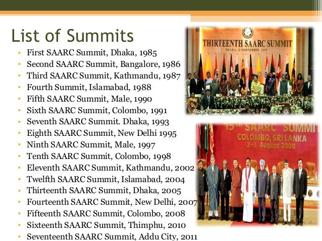 the south asian association for regional cooperation essay The south asian association for regional cooperation (saarc) was  established on 8, december, 1985 by seven countries of asia it is dedicated to  economic,.