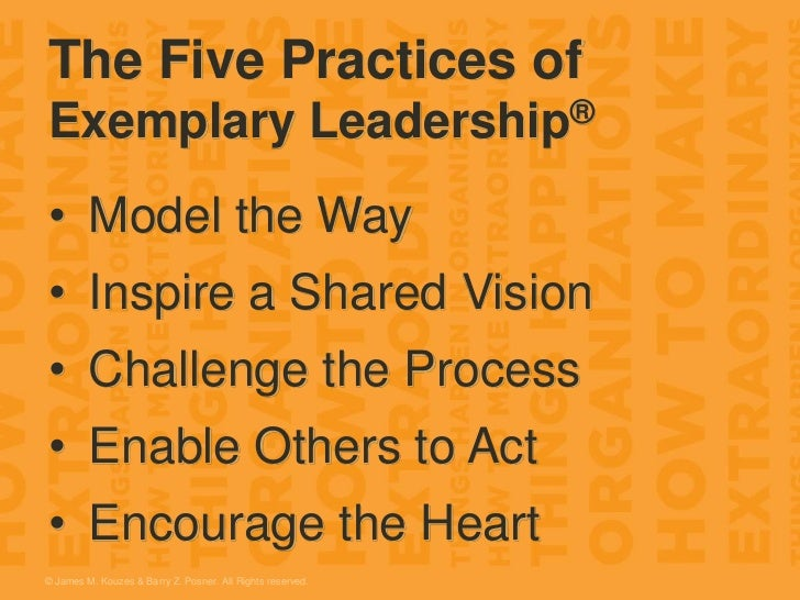 Jim Kouzes - The Leadership Challenge