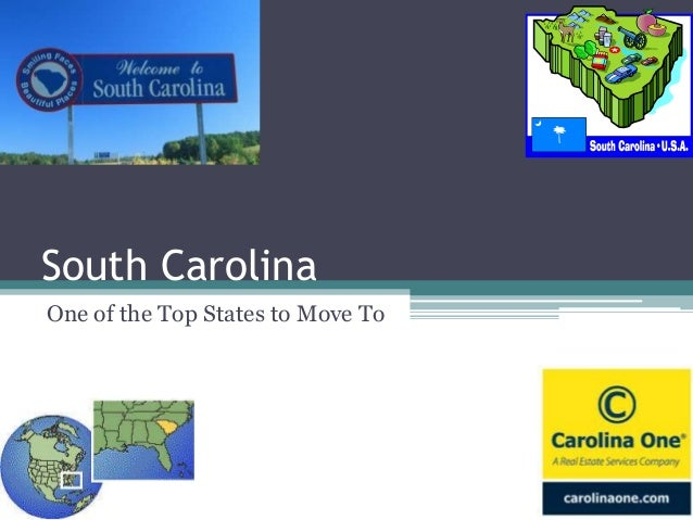 South Carolina One of the Top States to Move To