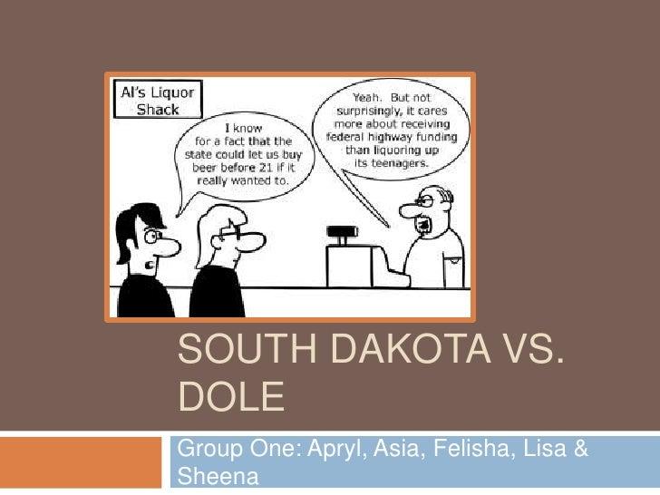 South Dakota vs. dole<br />Group One: Apryl, Asia, Felisha, Lisa & Sheena<br />