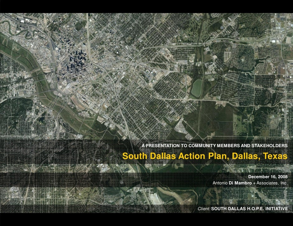 South Dallas Action Plan