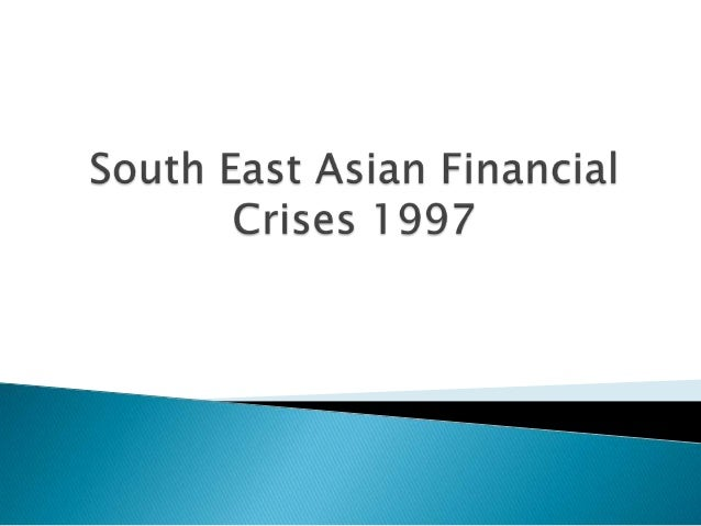 The Asian Financial Crisis was a period of  financial crisis that gripped much of Asia beginning in July 1997, and raised ...