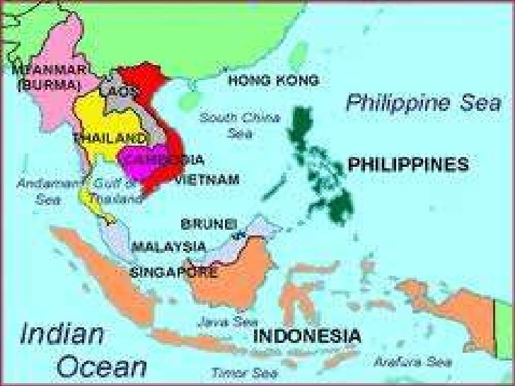 South east asian contries