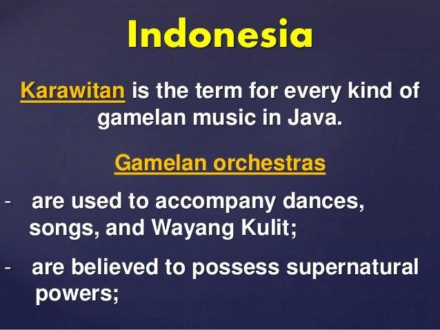 Southeast Asian Music (Grade 8 MAPEH - First Quarter)