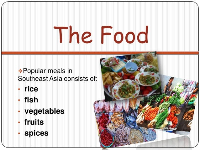 Southeast asia powerpoint for Asian cuisine ppt