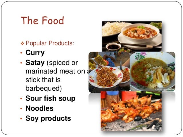 Southeast asia powerpoint for Aja east asia cuisine