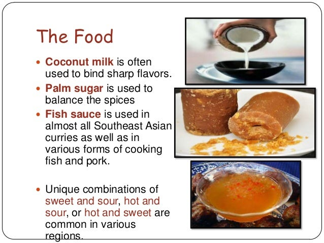Southeast asia powerpoint for Asian and western cuisine