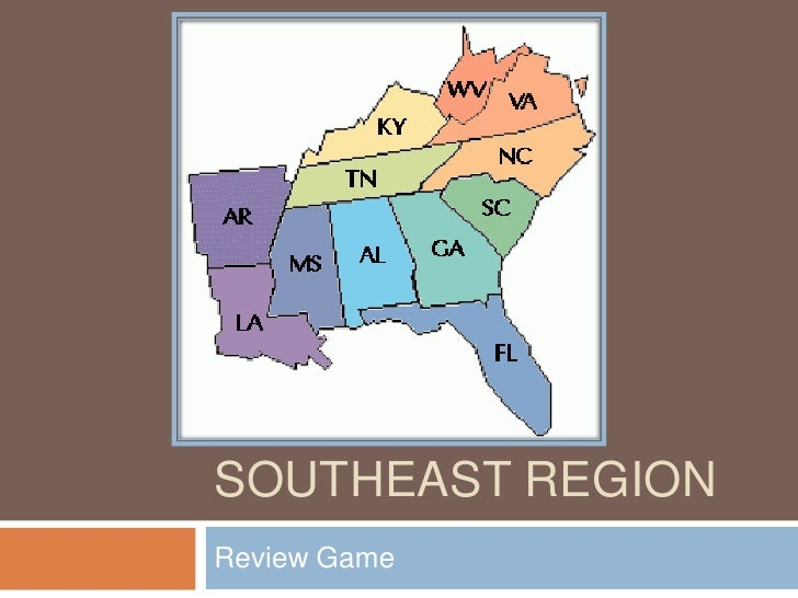 Southeast region ppt_review