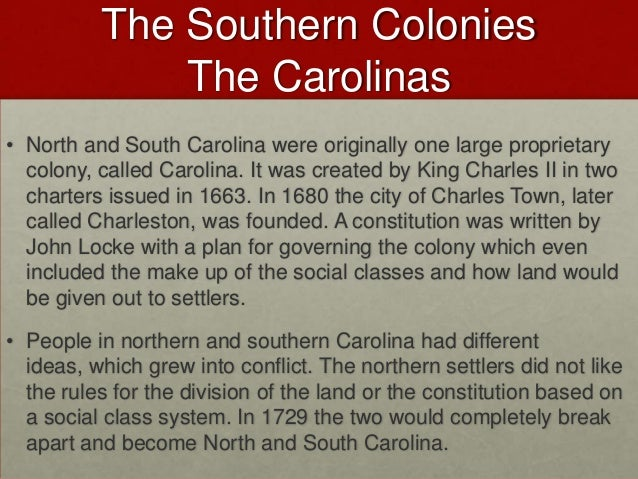 how were the northern and southern colonies similar Northern colonies vs southern although the two regions in the 17th and 18th centuries may appear to be similar on the northern colonies were significantly.