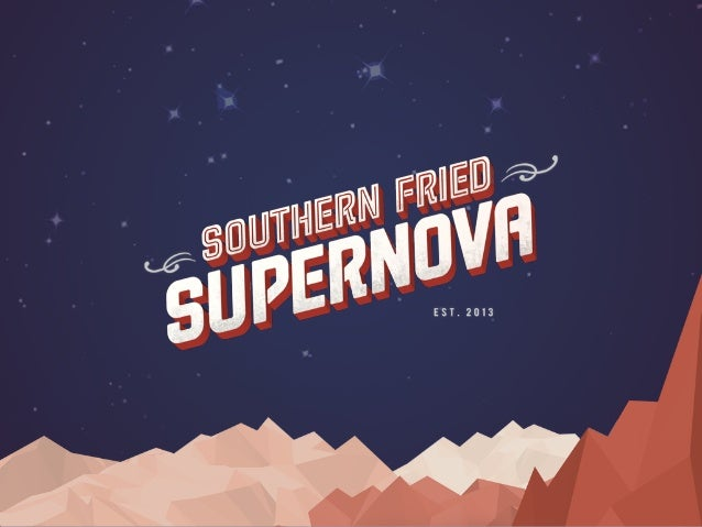 In five years, Southern Fried Supernova will be Atlanta's global signature event, featuring the best of the arts, technolog...