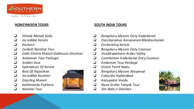 Southern Travels India Hyderabad