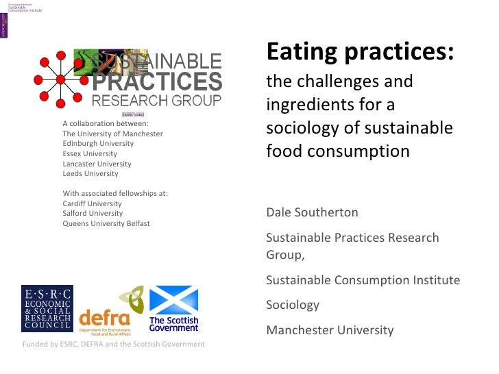Sustainable food practices