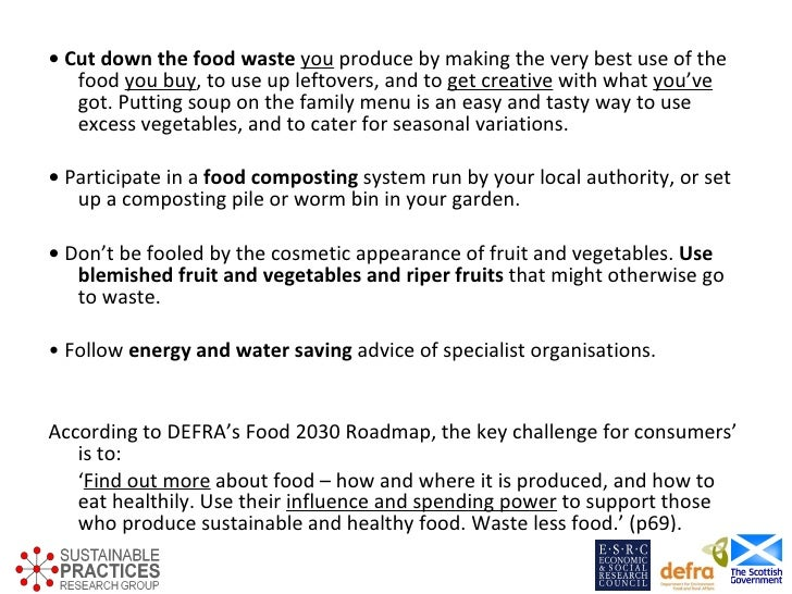 Eating practices: the challenges and ingredients for a sociology of sustainable food consumption - Dale Southerton, Sustainable Practices Research Group, Sustainable Consumption Institute, Manchester University Slide 3