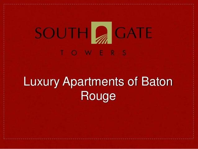 Luxury Apartments of Baton Rouge