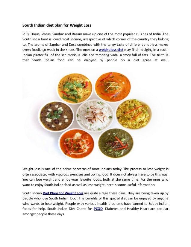Online indian diet planner