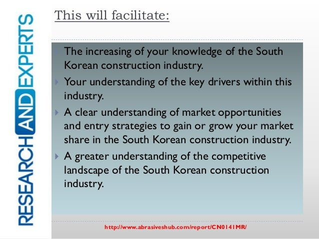 south korea construction industry South korea construction korea's construction sector accounted for 6% of the nation's gdp in 2013 the korean construction industry.