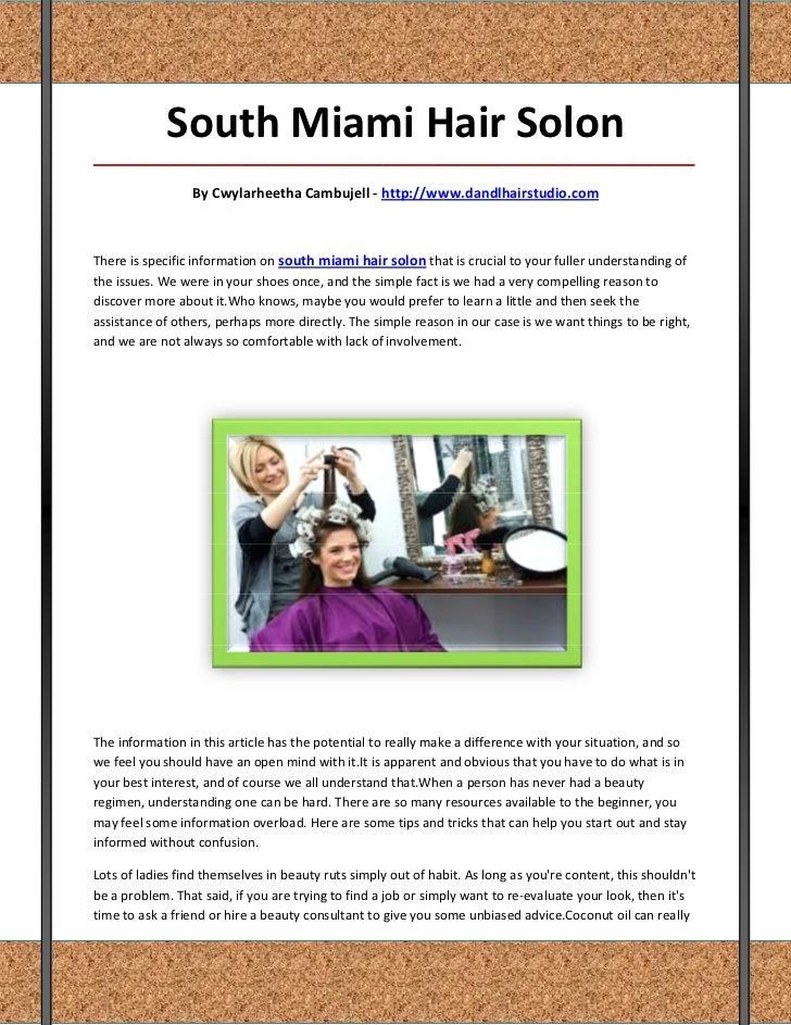South Miami Hair Solon_____________________________________________________________________________________               ...