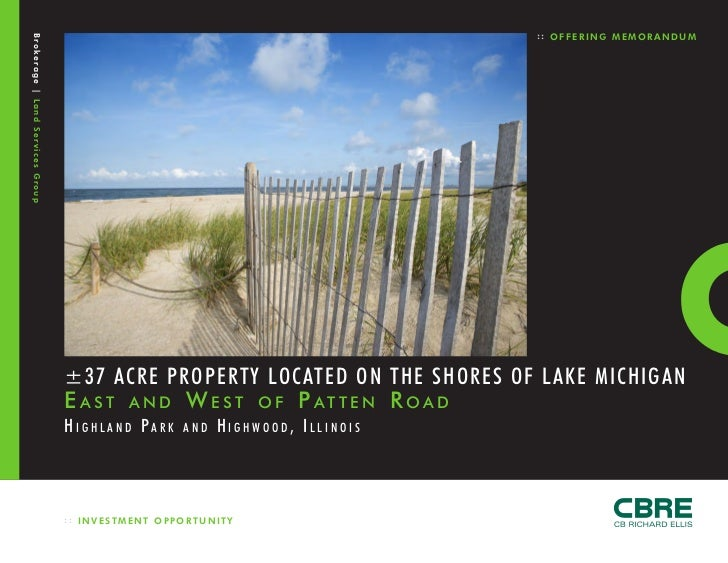 :: OFFERING MEMORANDUMBrokerage | Land Services Group                                  ±37 ACRE PROPERTY LOCATED ON THE SH...