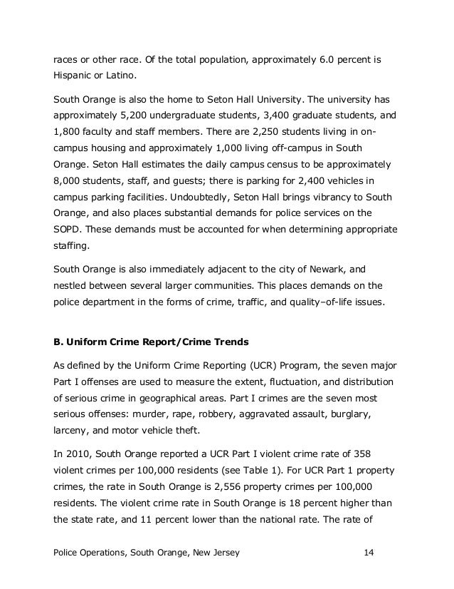 south orange police operational report  14