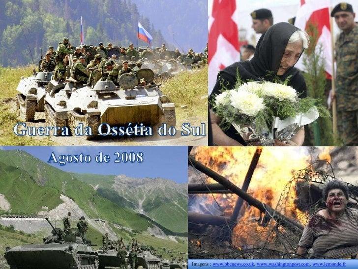 Imagens : www.bbcnews.co.uk, www.washingtonpost.com, www.lemonde.fr